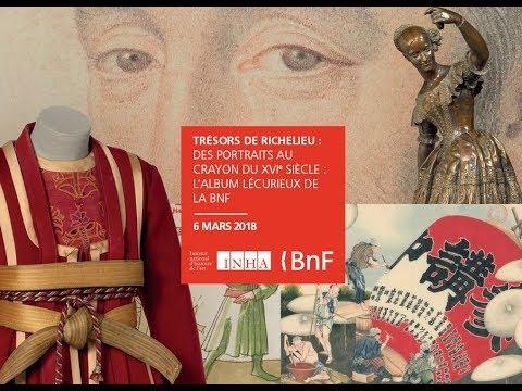 Trésors de Richelieu   6 mars 2018 - L'album Lécurieux de la BnF