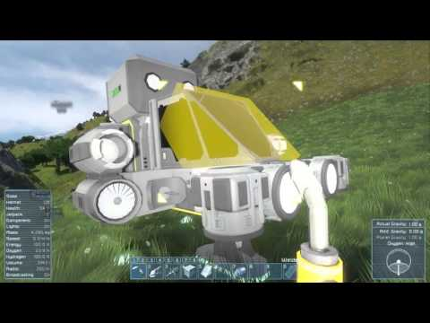 Space Engineers Planet Survival Ep. 4 - Searching for Ore