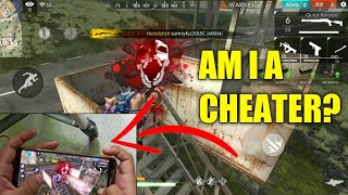 AM I A CHEATER? (HANDCAM GAMEPLAY) | Free Fire Mobile