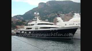 superyacht Amadeus owned by French industrialist Bernard Arnault.wmv