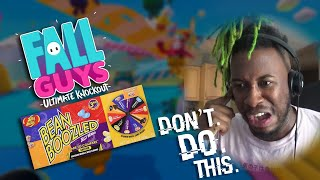 Fall Guys + BEAN BOOZLED = we don't care about our lives...
