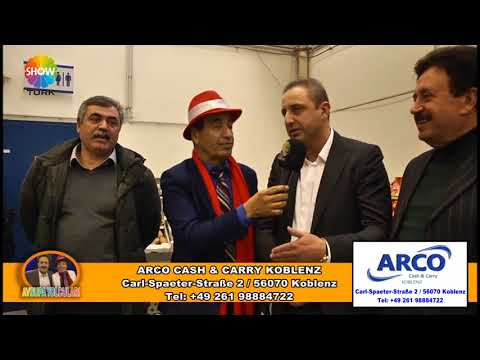 AVRUPA YOLCULARI 106  BÖLÜM ARCO CASH & CARRY KOBLENZ