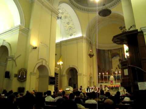 David Hykes and the Harmonic Choir @ Sacred Heart Cathedral New Delhi INDIA3.MOV