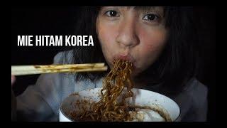 Mie Hitam Korea JJAJANGMEN BLACK BEAN NOODLES :')))
