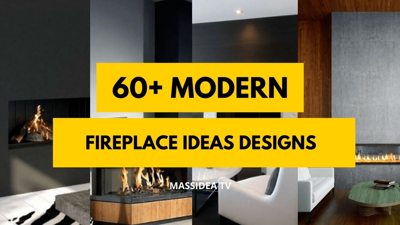 60+ Best Modern Fireplace Designs ideas 2017 - YouTube