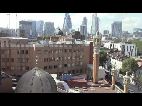 Call to prayer, East London Mosque