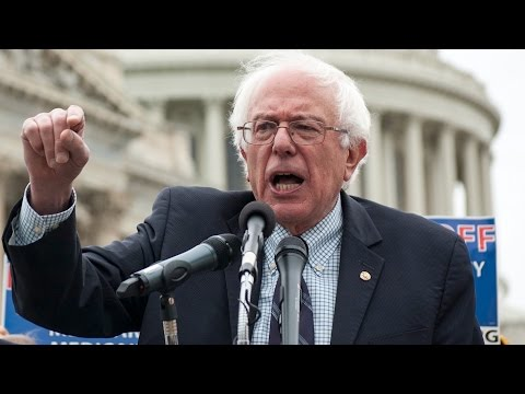 Bernie Sanders Launches Campaign with Wall Street Attack