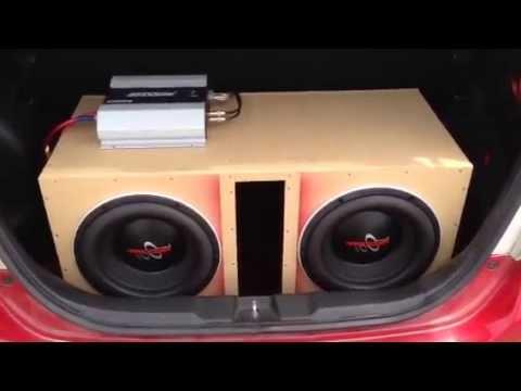 Testando Subwoofer Hard Power 500 Rms + Soundigital 2500