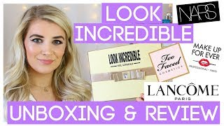 TOO FACED, MUFE, NARS & LANCOME FOR £35😱😱!! LOOK INCREDIBLE DELUXE BOX REVIEW JUNE 2018 😍