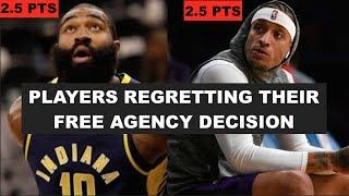 6 NBA Players Regretting Their Free Agency Decision This Season