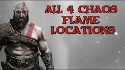 God of War | All Chaos Flame Locations