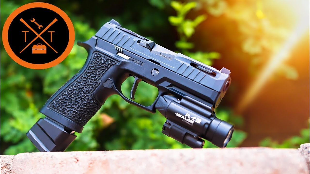 80% Sig Sauer P320 X Carry    I messed up   Will It Shoot??