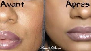 PEAU GRASSE - Comment tenir Matte Le Maquillage Toute La Journée