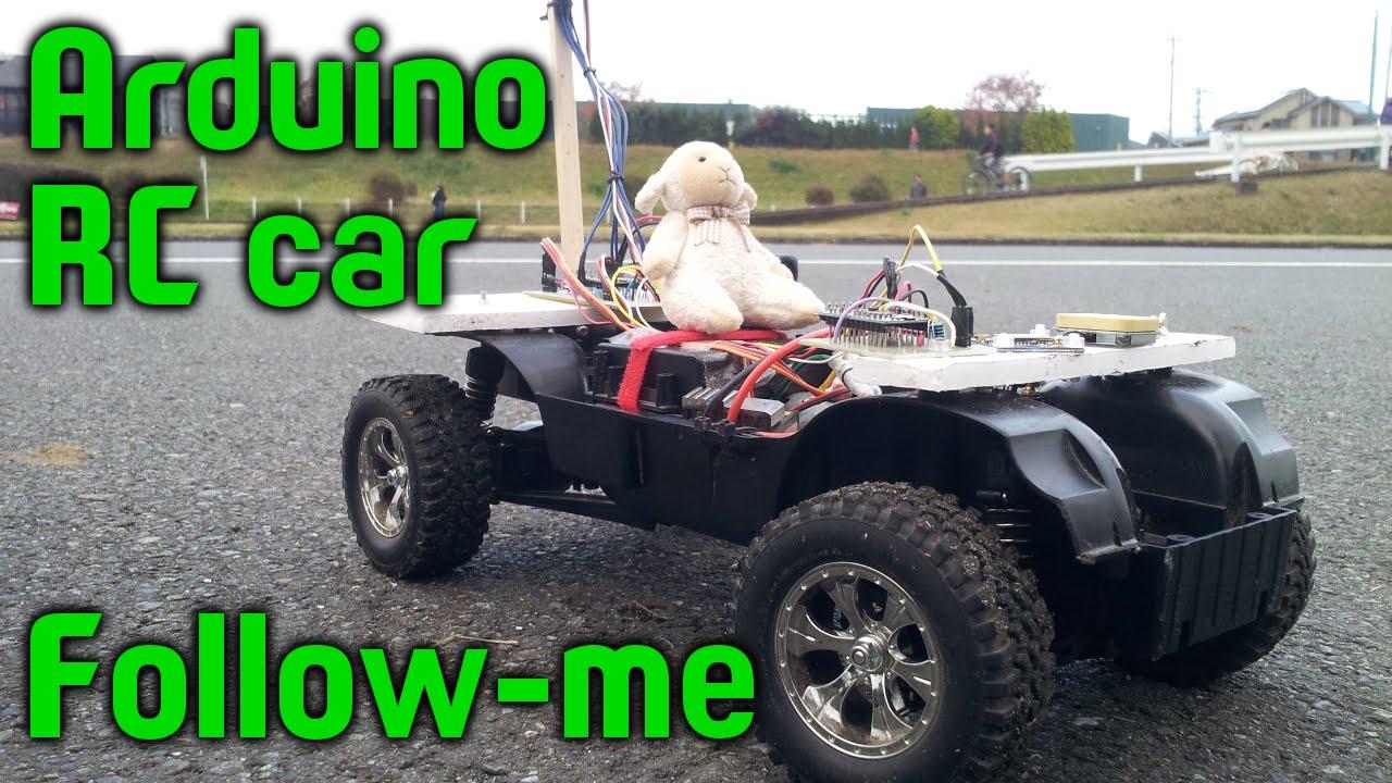 RC car GPS follow-me (arduino)