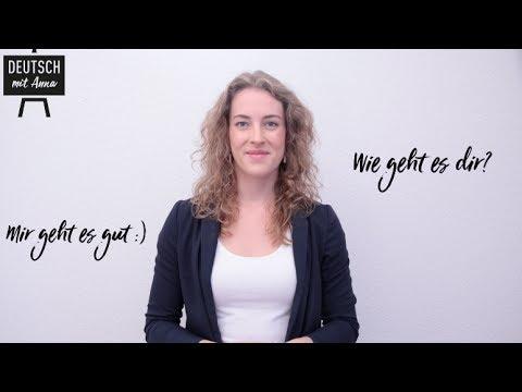 Wie geht es dir? Einfach Deutsch lernen mit Anna! #2