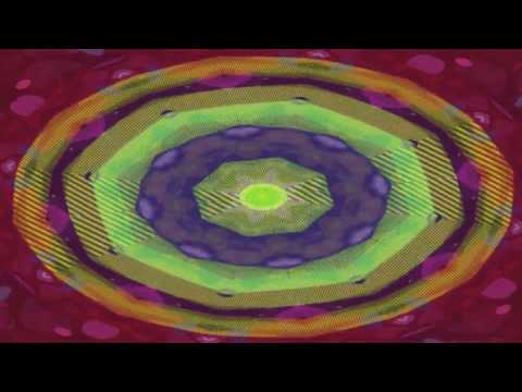 (WARNING STROBEING LIGHTS) Shiva Chandra - Passing by crystals (Kaleidoscope Live Visualization)