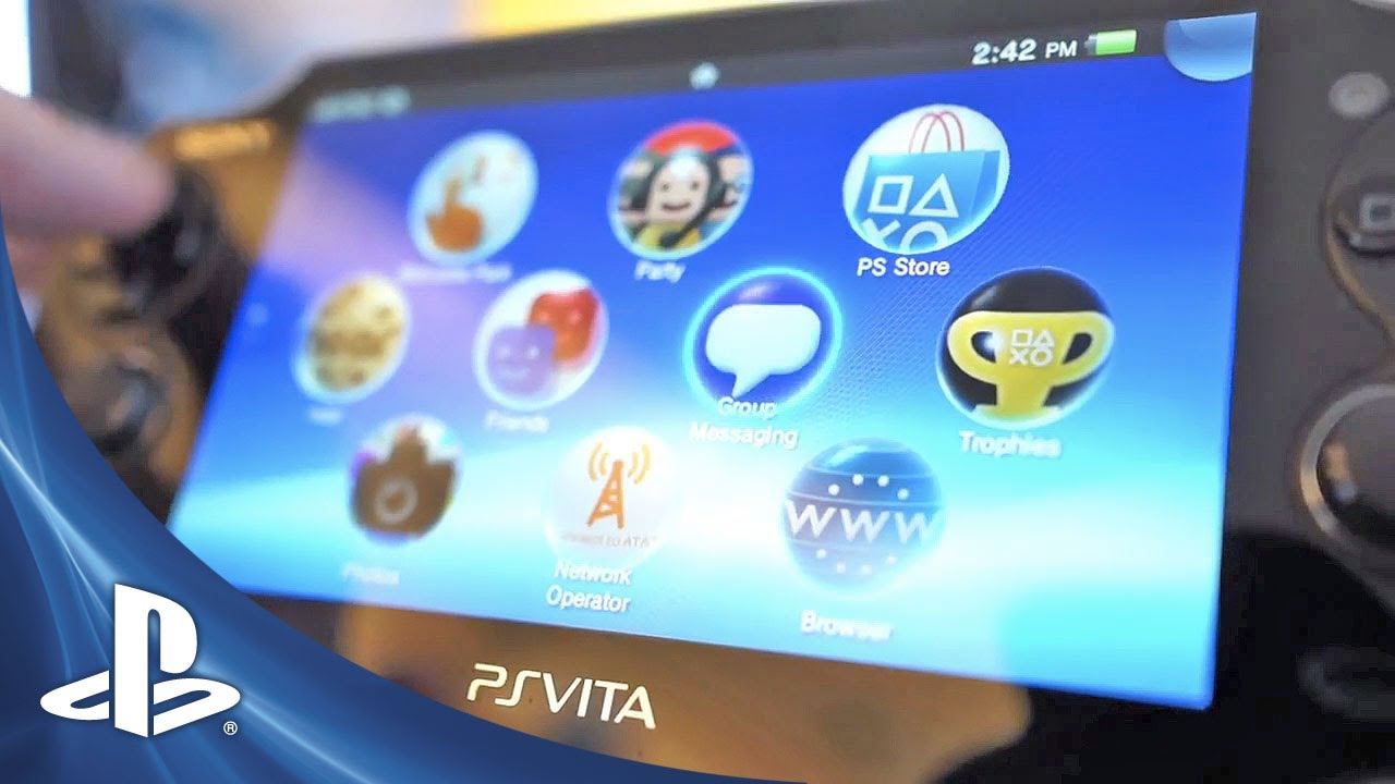 PS Vita System Software Update (v1 80) -- Take The Tour