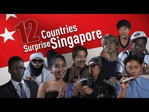 12 Countries Surprise Singapore