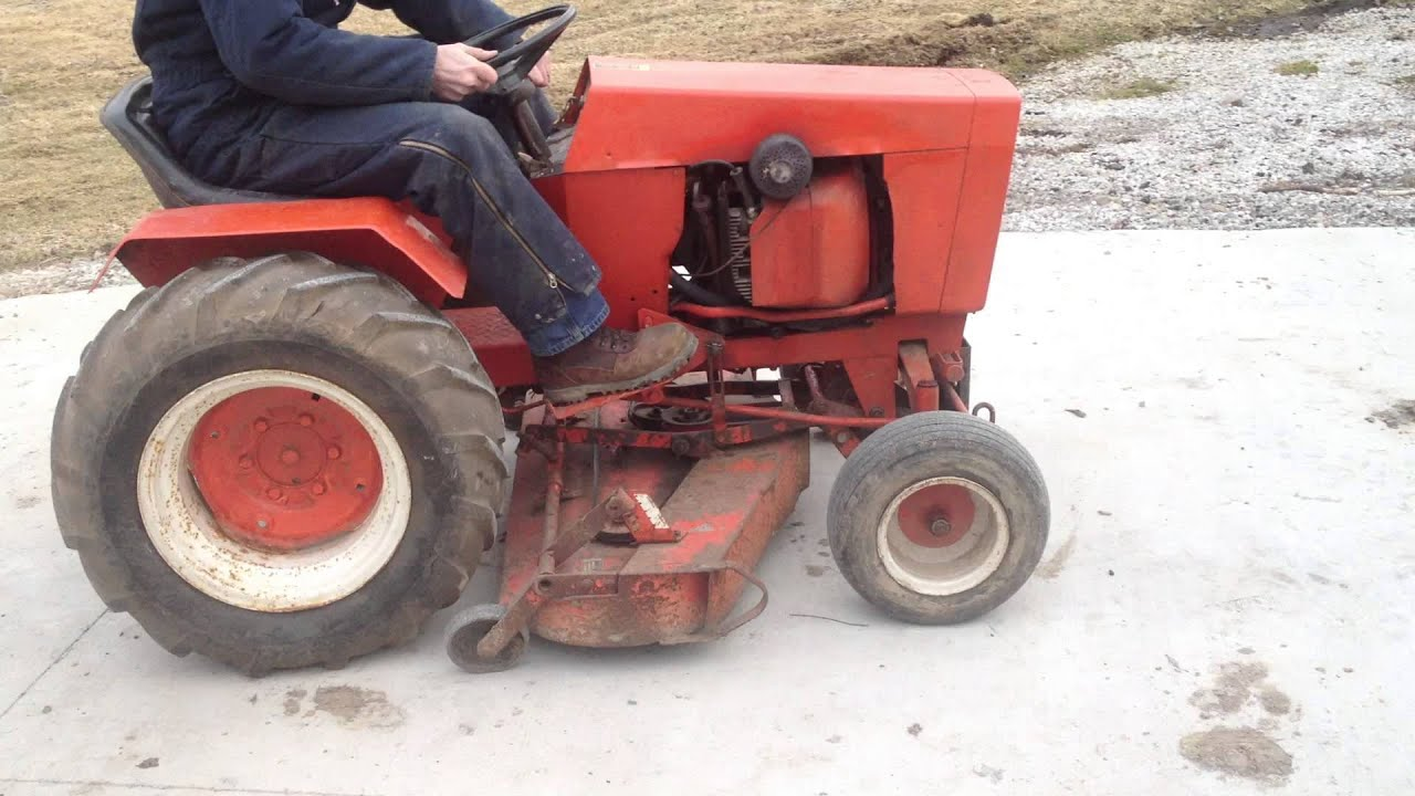 Case 446 Tractor Lawn Mower