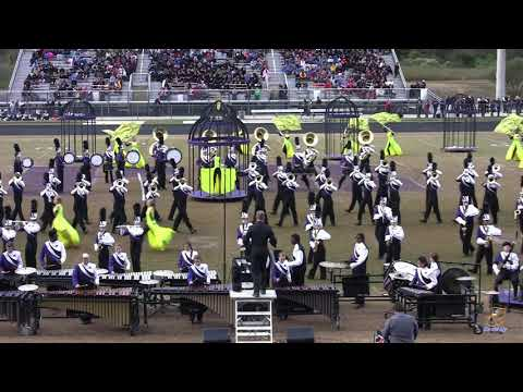Ardrey Kell High School Marching Band at Porter Ridge 10/27/2018