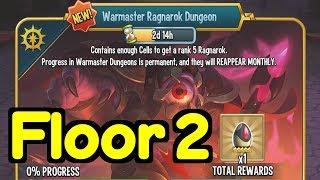 Monster Legends - Wąrmaster Ragnarok Dungeon, Floor 2