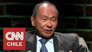 Francis Fukuyama habló sobre la situación política global y el rol de Chile en ella