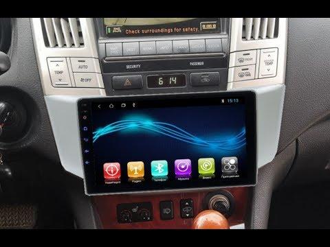 Штатная магнитола Lexus RX330, RX300, RX350, RX H400, Toyota Harrier Android CF-3333