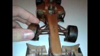 Formula 1 Car Made With Wood Mclaren Mp4/27