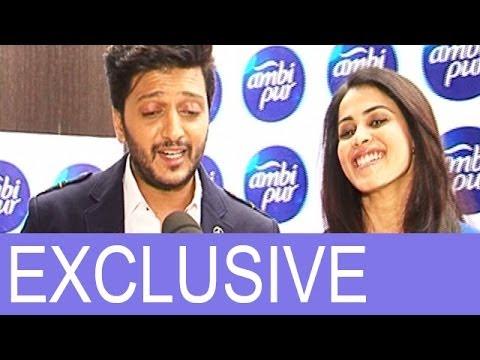 Riteish Deshmukh & Genelia D'Souza's exclusive interview
