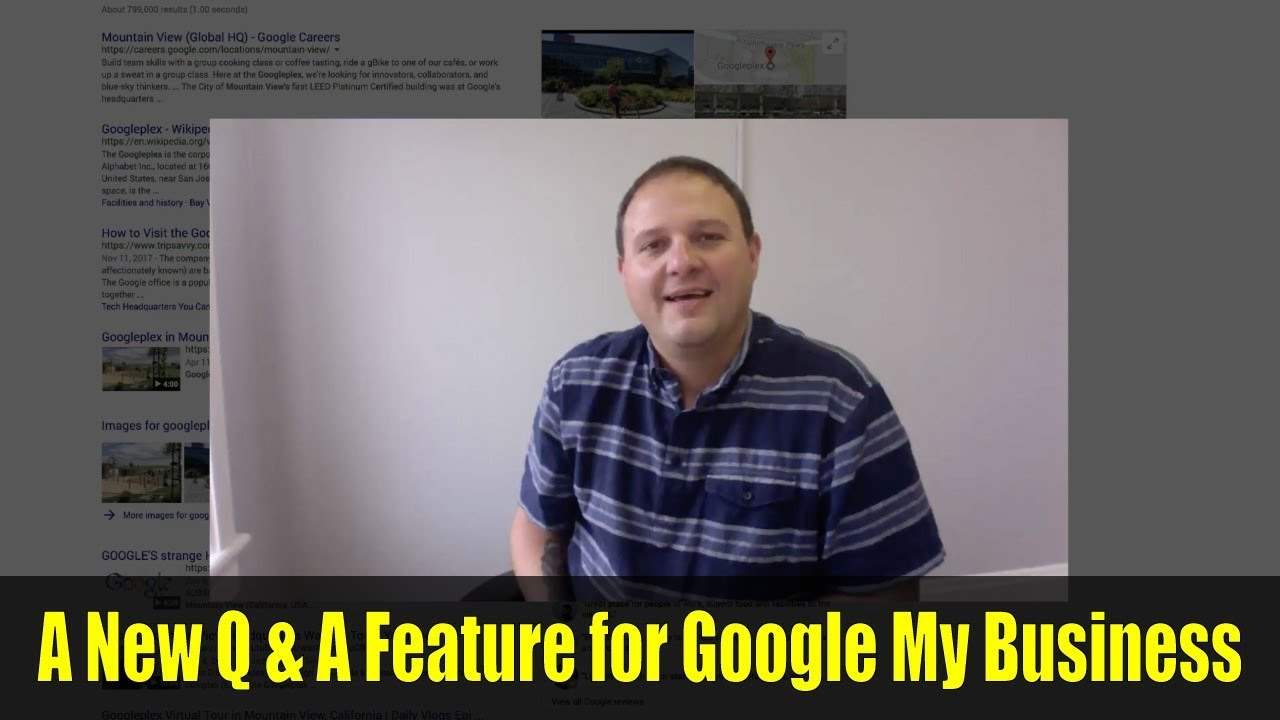 A New Q A Feature For Google My Business Youtube