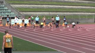 100m Final - 15 Years Boys - 2015 NSW All Schools
