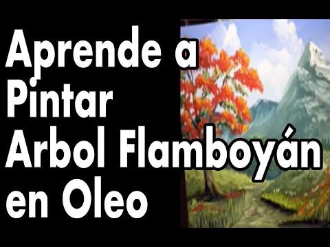 Curso Pintura •Arbol flamboyan