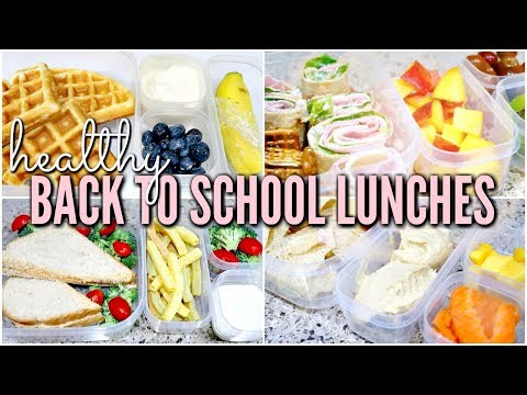 DIY BACK TO SCHOOL LUNCHES IDEAS 2018   Healthy Bento Box Lunches   Love Meg