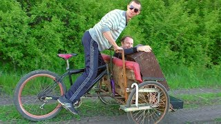 ✅Диван на колёсах 😃 Расколбас и море позитива обеспечено ☺ Вело-Рикша