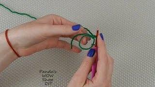 Волшебное кольцо ★ Вязание крючком для начинающих №9  ★ Петля амигуруми