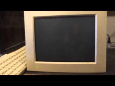 World's Fastest Mac in  1991 Hard drive loud bang