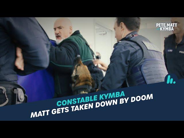 Constable Kymba: Police Dog Training | Pete, Matt and Kymba | Mix94.5