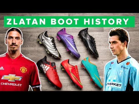 ZLATAN BOOT HISTORY 1998 - 2017 | All Zlatan Ibrahimovic football boots