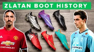 ZLATAN BOOT HISTORY 1998 - 2017 | All Zlatan Ibrahimovic football boots