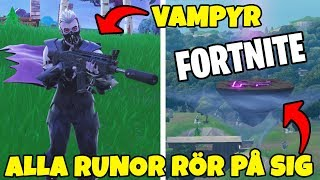 RUNES HAVE BEGUN TO MOVE IN FORTNITE * NEW VAMPIRE-SKIN * SEASON 6