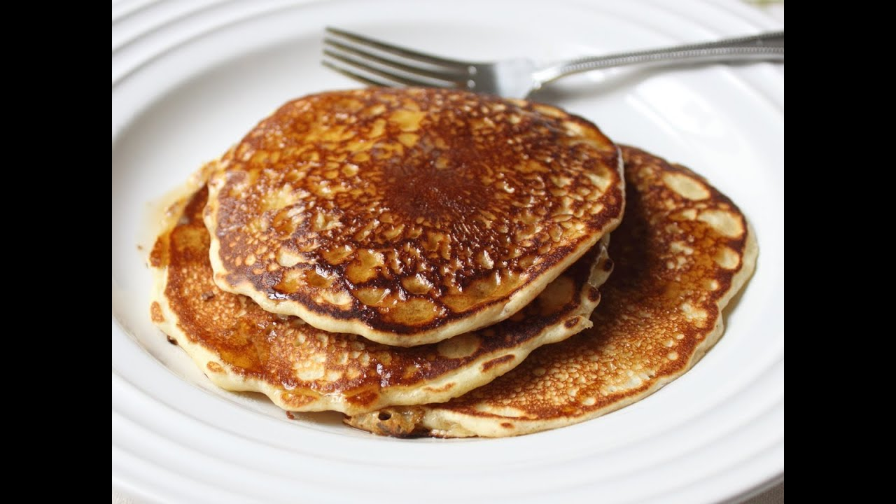 The Best Pancakes - Old Fashioned Pancakes Recipe - YouTube