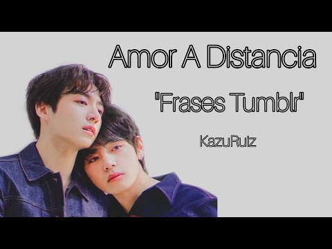 Frases Tumblr Bts Amor A Distancia Youtube