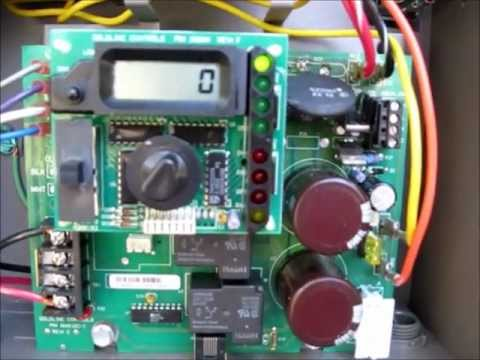 Aquarite Hayward No Cell Power Wmv Youtube