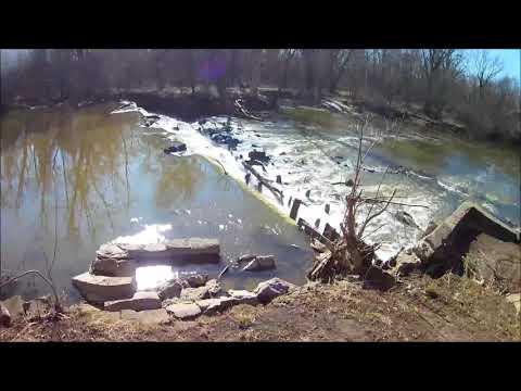 The Vanished Trailer Park & Deep River Dam - Lake Station, Indiana