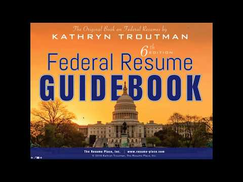 Creating Your First Resume 45 min And Federal Resume Writing Introduction 45 min 2 11 16, 8 02 AM