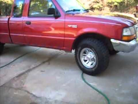 coil spring boosters 1999 ford ranger leveled youtube