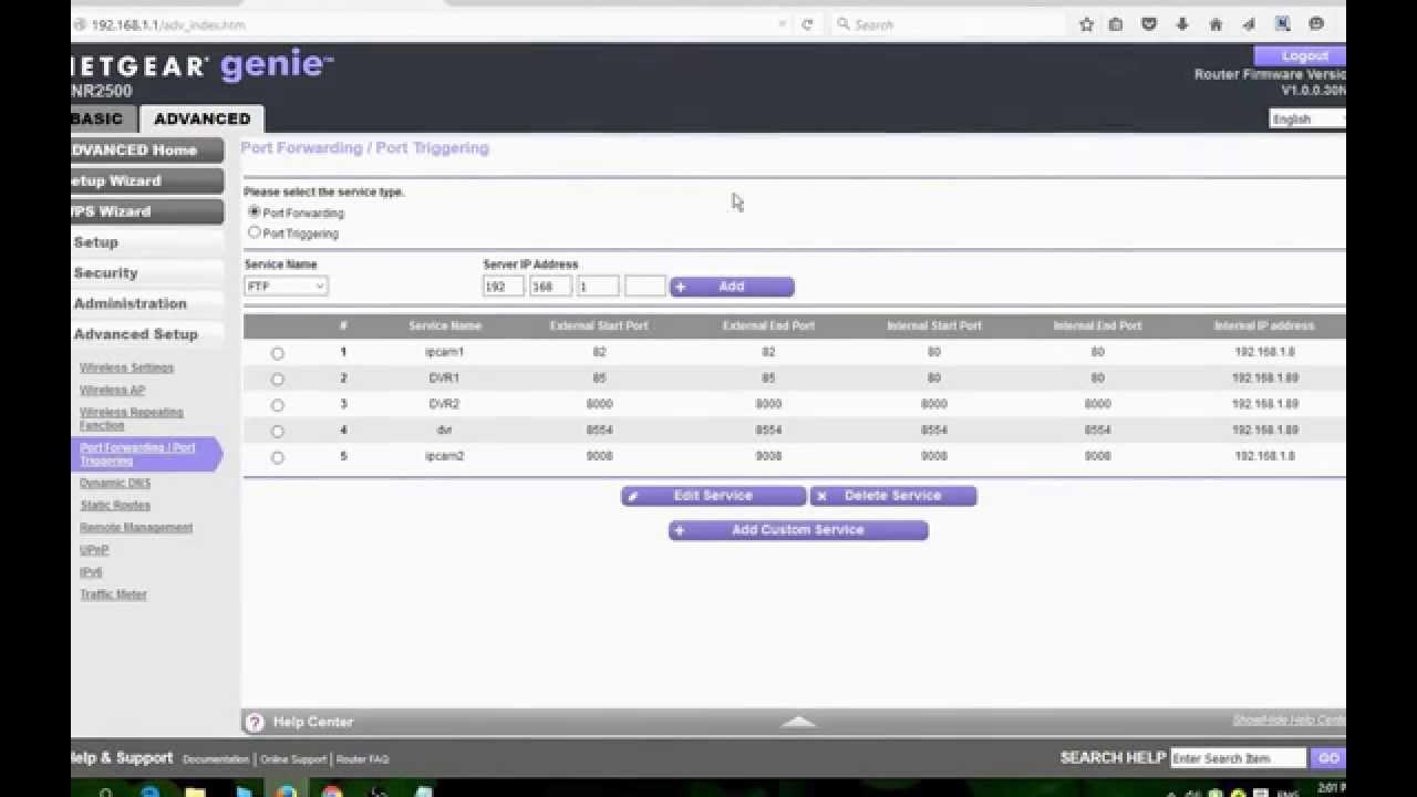 How To Setup Port Forwarding For Ip Camera Youtube