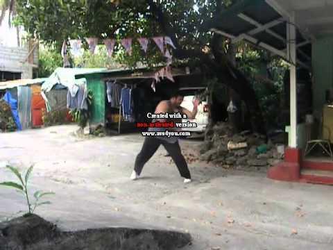 JAN PABLO MARTIAL ARTS VIDEO 2