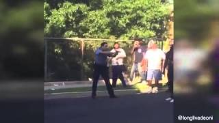 VIDEO:The moment a woman was shot after refusing to drop her knife ...