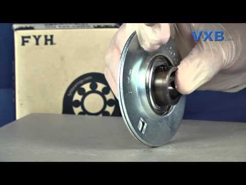 FYH SBPF204 20mm Stamped steel round three bolt Flanged Mounted Bearings by VXB Ball Bearings
